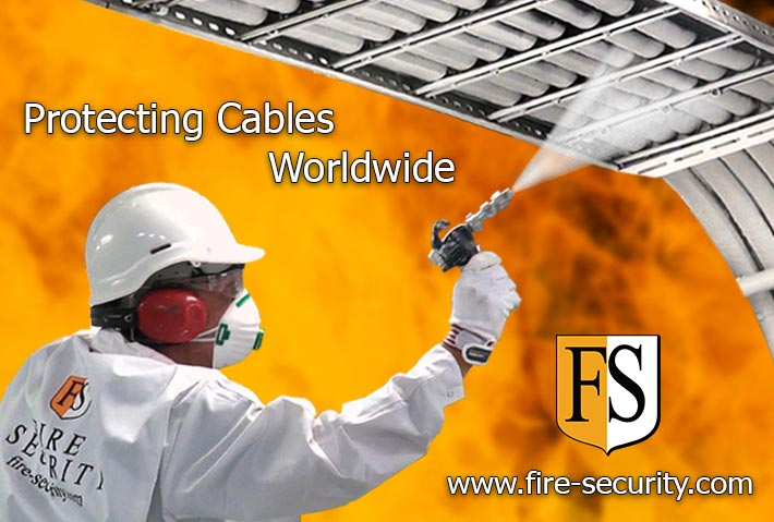 Fire Security - Protecting cables worldwide