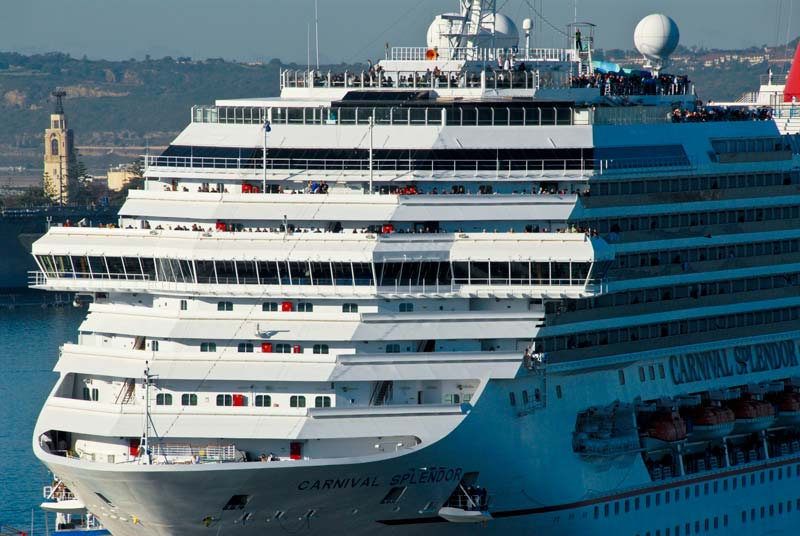 In June 2016 we did a 10 year recertification - coating electrical cables on Carnival Splendor.