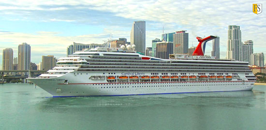 Carnival Cruise Line is using Fire Security's highly effective cable coating system