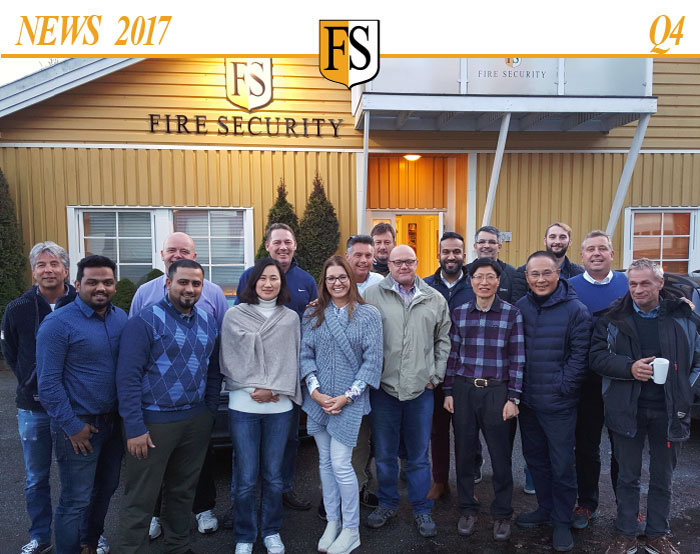 Newsletter 2017-Q4 Fire Security headquarter in Norway