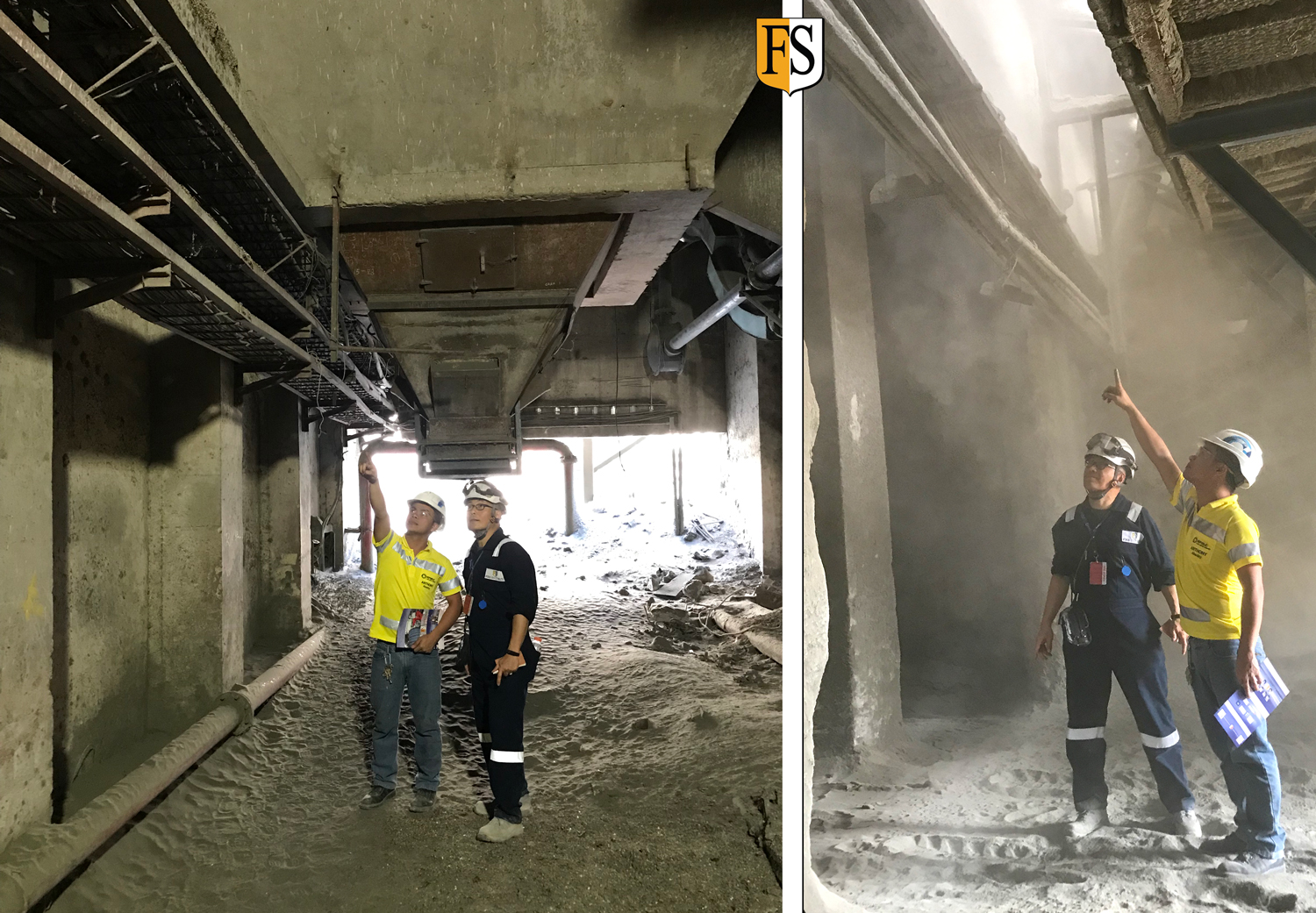 Fire Security Inspect Cement Plant In Manilla Phippipines To What Is A Electrical Cables Survey At Factory The Philippines