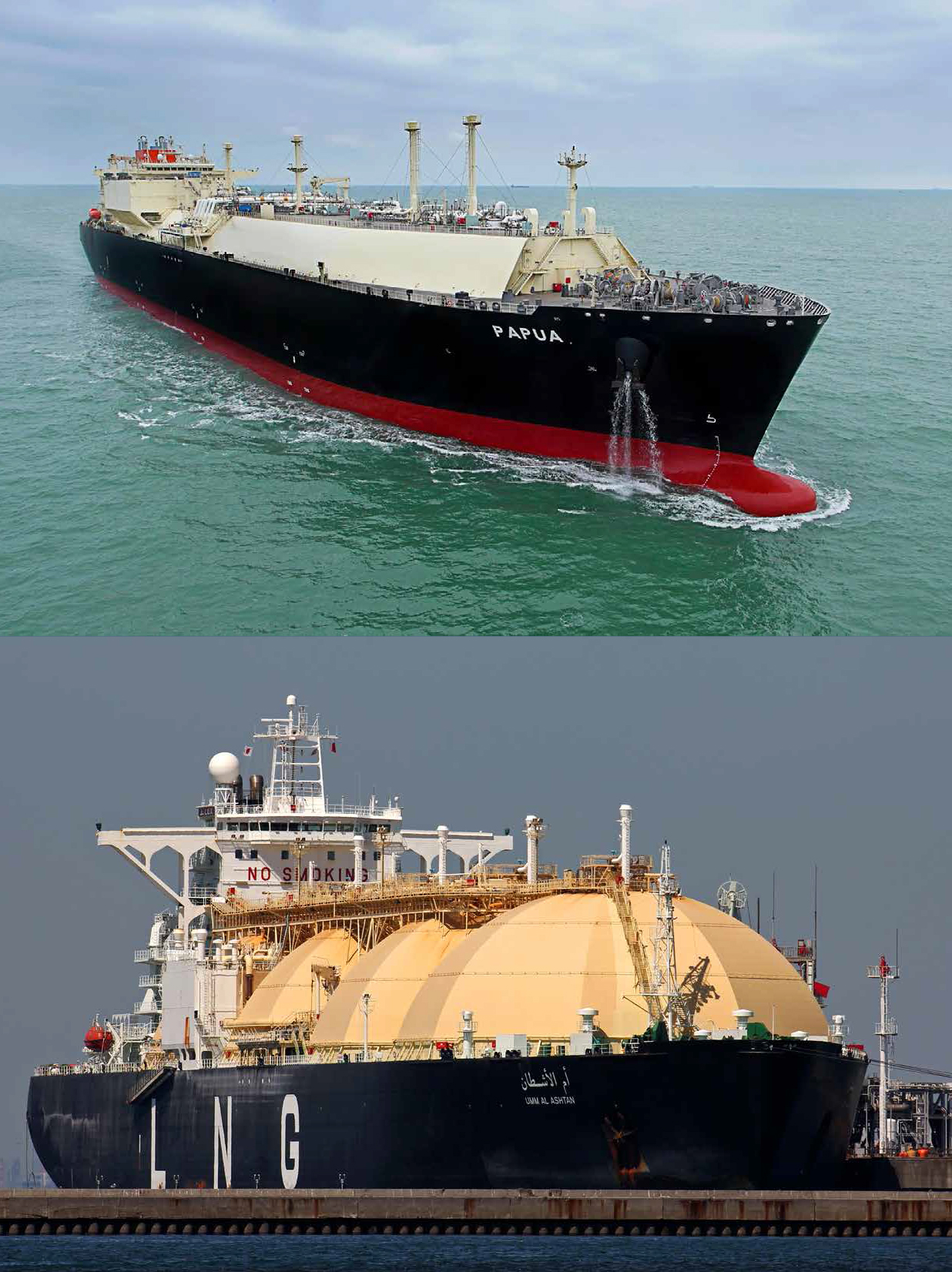 More than 20 LNG carriers have been fire technically ...