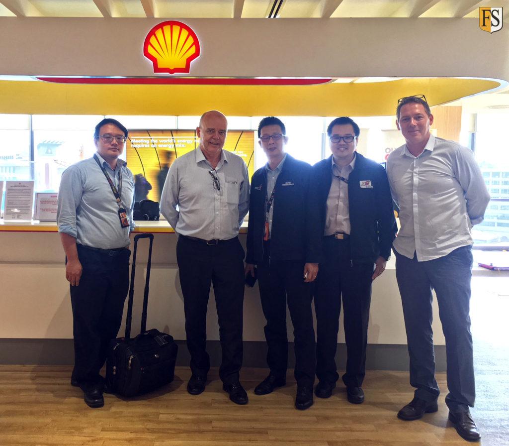 Fire Security visiting Shell in Kota Kinabalu Sabah - Malaysia