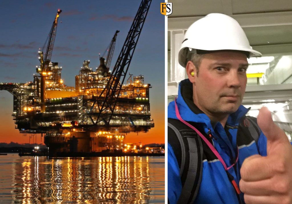 Fire protection project on board Equinor's Aasta-Hansteen platform