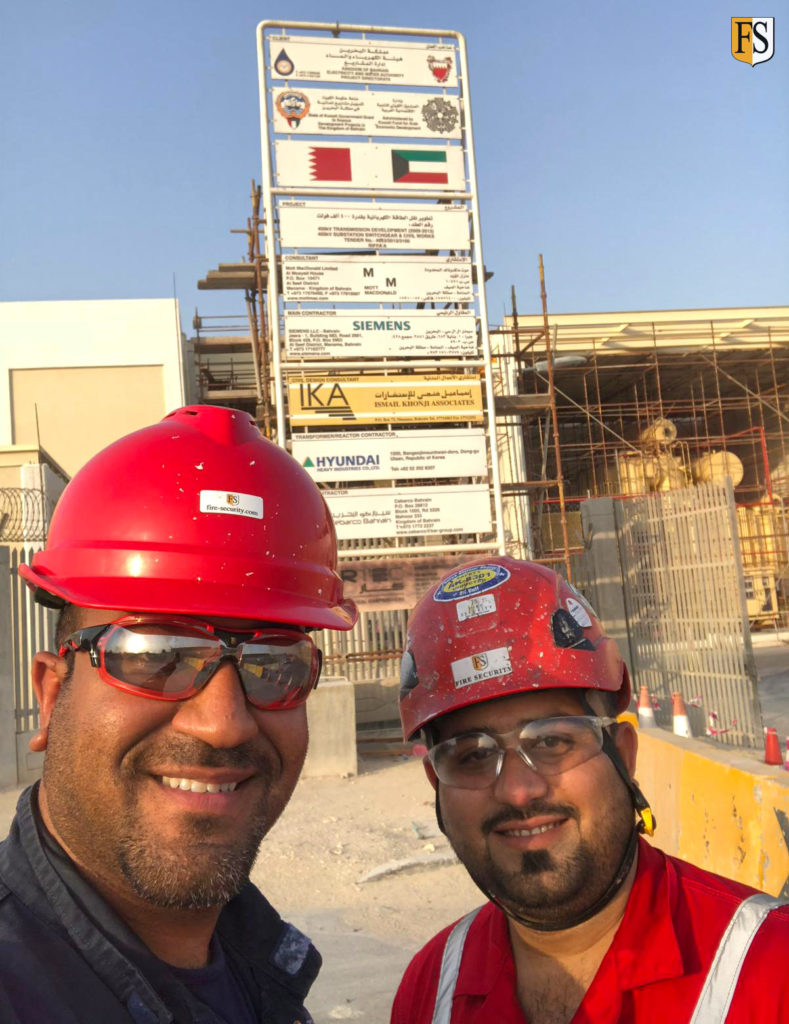 Fire-security-Middle-East-conducting-cable-survey-of-400-kv-substations-in-Bahrain