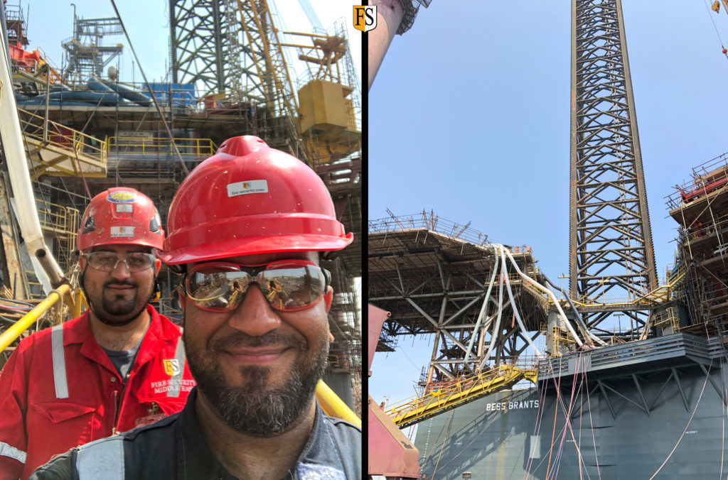 Mohamed-alawi-and-khurram-Tahir-conducting-survey-on-board-Rowan-Rig-in-Bahrain-shipyard
